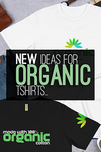 Organic Cotton T Shirt Top for Women and Men